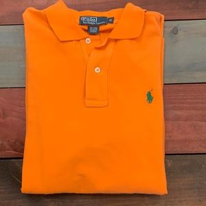 Polo by Ralph Lauren Orange Size Medium